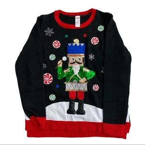HOLIDAY TIME Toy Soldier Sweater, Beautiful Colors